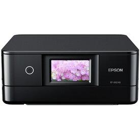 EPSON A4カラーインクジェット/多機能/Wi-Fi/4.3型W/ブラック EP-882AB