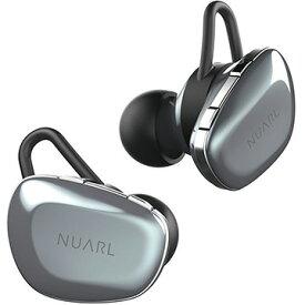 エム・ティ・アイ NUARL N6 完全ワイヤレスイヤフォン シルバー N6-SV