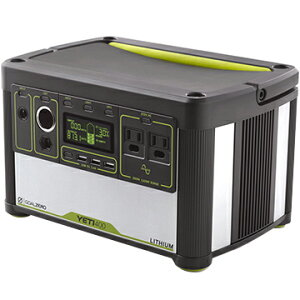 Goal Zero ■Yeti Lithium 400 (100V) Portable Power Station 38008