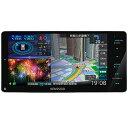 ケンウッド 彩速ナビ 7V型ワイドメモリーカーナビ/地デジ/ハイレゾ対応/DVD/Bluetooth/HDパネル搭載 MDV-M807HDW