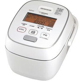 象印マホービン 圧力IH炊飯器 炎舞炊き 5.5合炊き 粉雪 NW-PS10-WZ