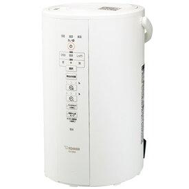 象印マホービン スチーム式加湿器 加湿量480ml/h 大容量4Lタンク ホワイト EE-DB50-WA