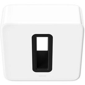 Sonos Sub Gen3 ワイヤレスサブウーファー ホワイト 国内正規品 SUBG3JP1