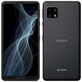 SHARP AQUOS sense4 ブラック