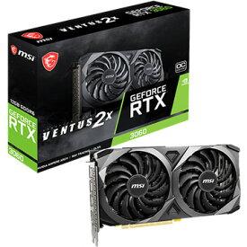 MSI グラフィックボード GeForce RTX 3060 VENTUS 2X 12G OC GeForceRTX3060VENTUS2X12GOC
