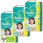 P&G パンパース おむつ テープ さらさらケア L(9-14kg)68枚×3パック