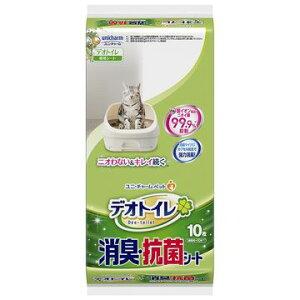 ユニ・チャーム 株式会社 ■デオトイレ 消臭・抗菌シート 10枚