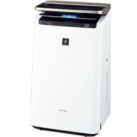 SHARP 加湿空気清浄機 プレミアムモデル プラズマクラスターNEXT ホワイト KI-JP100-W