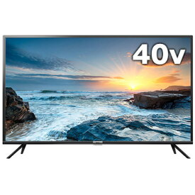 TCL 40V型 BS/110度CS/地上波デジタルフルハイビジョン液晶テレビ 40B400