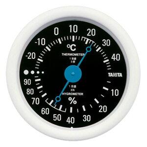 【期間限定エントリーで最大P38倍】 タニタ TANITA 温湿度計 ブラック TT-515-BK