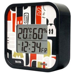 【期間限定エントリーで最大P38倍】 タニタ デジタル温湿度計 ミッキー TT-DY01-MK