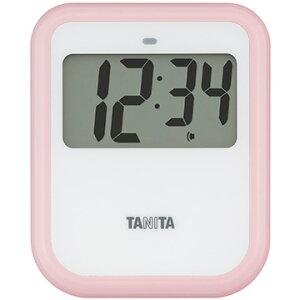 タニタ 非接触タイマー ピンク TD-421PK