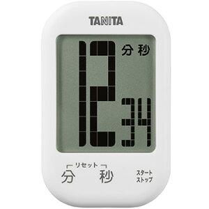 タニタ タッチキータイマー ホワイト TD-413-WH