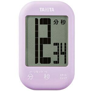 タニタ タッチキータイマー パープル TD-413-PP