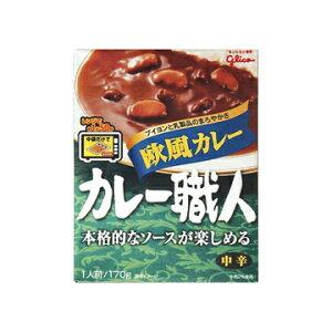 江崎グリコ グリコ カレー職人 欧風カレー 中辛 170g x 10