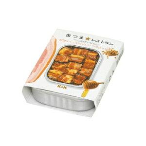 K&K 缶つまレストラン 厚切りベーコンのハニーマスタード味 105g x 6