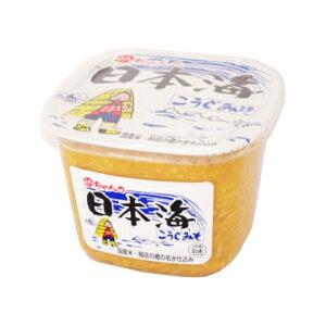 日本海味噌醤油 雪ちゃんの日本海こうじみそ カップ 1kg x 6