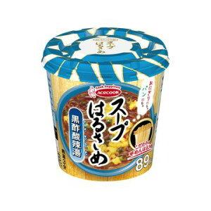 【6個入り】エースコック スープはるさめ 黒酢酸辣湯 カップ 34g