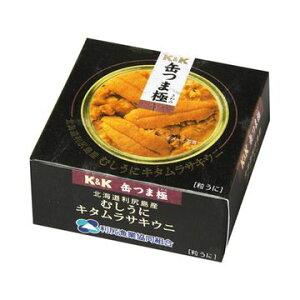 K&K 缶つま極 北海道利尻島むしうに キタムラサキウニ 100g x1