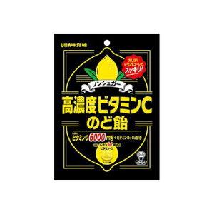 【6個入り】UHA味覚糖 高濃度ビタミンCのど飴 90g