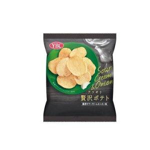 【12個入り】ヤマザキビスケット 贅沢ポテト 濃厚サワークリームオニオン 60g