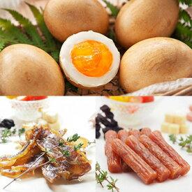 半澤鶏卵 半澤鶏卵の燻製卵スモッち&チキンジャーキー サラミおつまみ TW3050243517