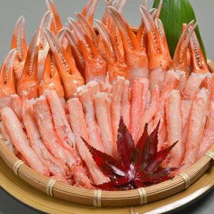 大漁市場なかうら(中浦食品) 境港産 紅ずわいがに鍋詰め合わせ 紅ずわいがに棒肉 300g ×1個 紅ずわいがに親爪 300g ×1個
