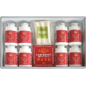 清里ミルクプラント オリジナルのむヨーグルト・チーズ2種のギフトセット(飲むヨーグルト150ml×8本 チーズ2種)