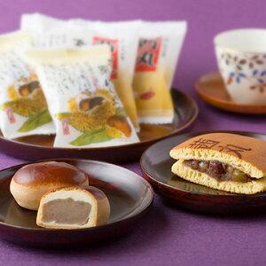 株式会社茜丸 どら焼きとお饅頭の3種詰め合わせ15個入(五色どら・大栗どら・栗まん)