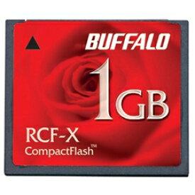 BUFFALO コンパクトフラッシュ ハイコストパフォーマンスモデル 1GB RCF-X1GY