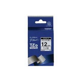 ブラザー ラミネートテープ(白地/黒字) 12mm TZe-231