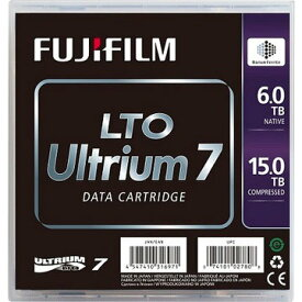 FUJIFILM LTO7カートリッジ 6/15TB 5巻パック LTOFBUL-76.0TJX5