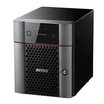 【期間限定 エントリーでP10倍】 バッファロー 小規模オフィス・SOHO向4ドライブNAS 4TB TS3410DN0404