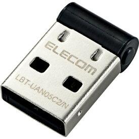 【スーパーセール期間クーポン配布中】 エレコム Bluetooth USBアダプタ/PC用/V4/CL2/ブラック LBT-UAN05C2/N