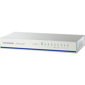 アイ・オー・データ機器 省電力機能100BASE-TXスイッチ(8ポート) ホワイト ETX-ESH08NCW