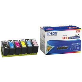 EPSON カラリオプリンター用 インクカートリッジ/カメ(増量6色パック) KAM-6CL-L