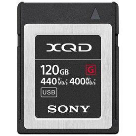 SONY XQDメモリーカード Gシリーズ 120GB QD-G120F