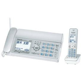 Panasonic デジタルコードレス普通紙FAX(子機1台)(シルバー) KX-PD315DL-S