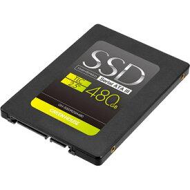 グリーンハウス SSD 2.5インチ SATA 6Gb/s TLC 480GB GH-SSDR2SA480