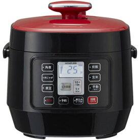 コイズミ マイコン電気圧力鍋 レッド KSC3501R