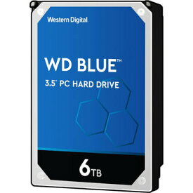 WESTERN DIGITAL 3.5インチ内蔵HDD 6TB SATA6Gb 5.4k 256MB WD60EZAZ-RT