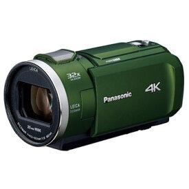 パナソニック デジタル4Kビデオカメラ (フォレストカーキ) HC-VZX2M-G