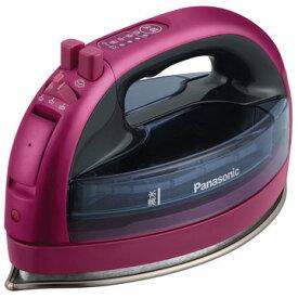Panasonic コードレススチームアイロン (ピンク) NI-WL706-P