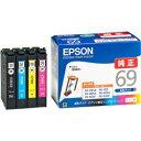 EPSON ビジネスインクジェット用 インクカートリッジ(4色パック) IC4CL69