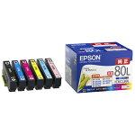EPSONカラリオプリンター用インクカートリッジ/増量(6色パック)IC6CL80L