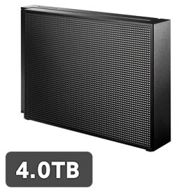 【エントリーでP7倍】 IODATA USB3.0/2.0対応 外付HDD 4TB ブラック EX-HD4CZ