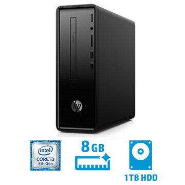 【期間限定 エントリーでP10倍】 HP HP Slim 290-a(i3-8100/メモリ8GB/HDD1TB)3JV83AA-AAAA 3JV83AA-AAAA