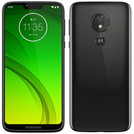 Motorola スマートフォン Moto G7 Power セラミックブラック PAEK0002JP