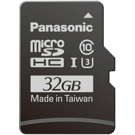 パナソニック 32GB microSDHC UHS-I メモリーカード RP-SMGB32GJK