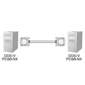 SANWASUPPLY RS-232Cケーブル(クロス・3m) KRS-403XF3K2